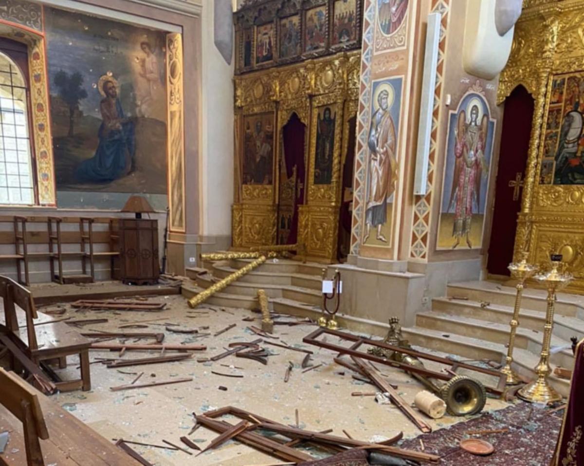 zLiban dégats à la cathédrale Saint-Georges à Beyrouth.jpg