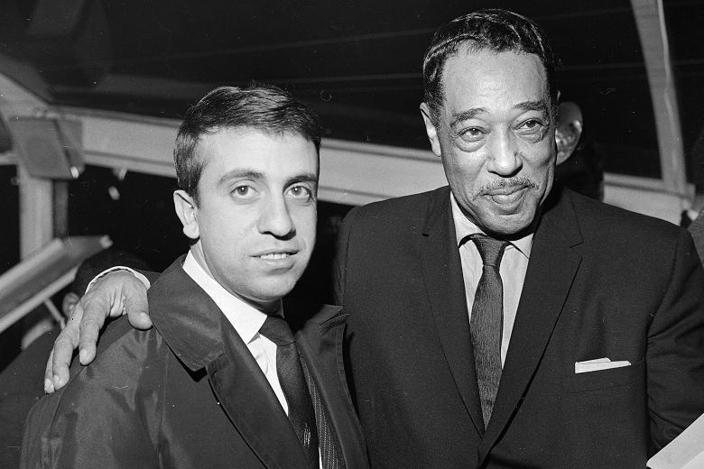 zMusique1 bas1 Martial Solal avec Duke Ellington dans les années 60.jpg