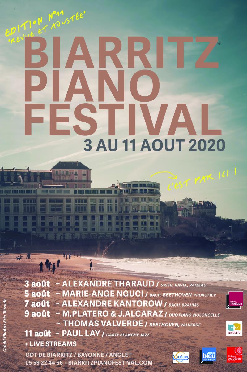 Dernière minute : la 11ème édition du Biarritz Piano Festival aura bien lieu du 3 au 11 août prochains