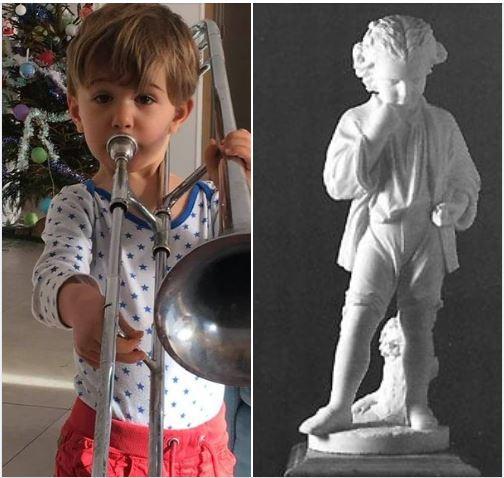 Joyeux Noël et Bonne Année : les voeux d'un jeune musicien