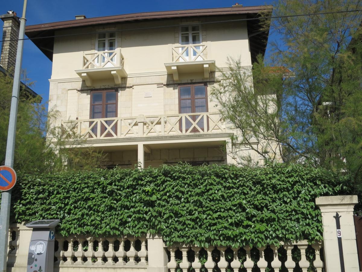 La maison de Stravinsky à Biarritz
