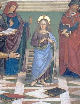 Le Christ parmi les docteurs de Bernardino di Betto