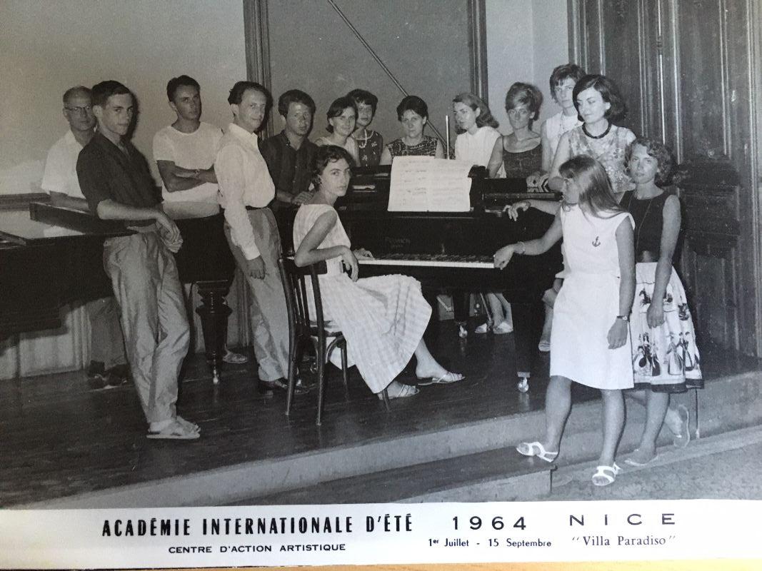 Elisabeth Lamarque, pianiste et pédagogue (2) : ses professeurs