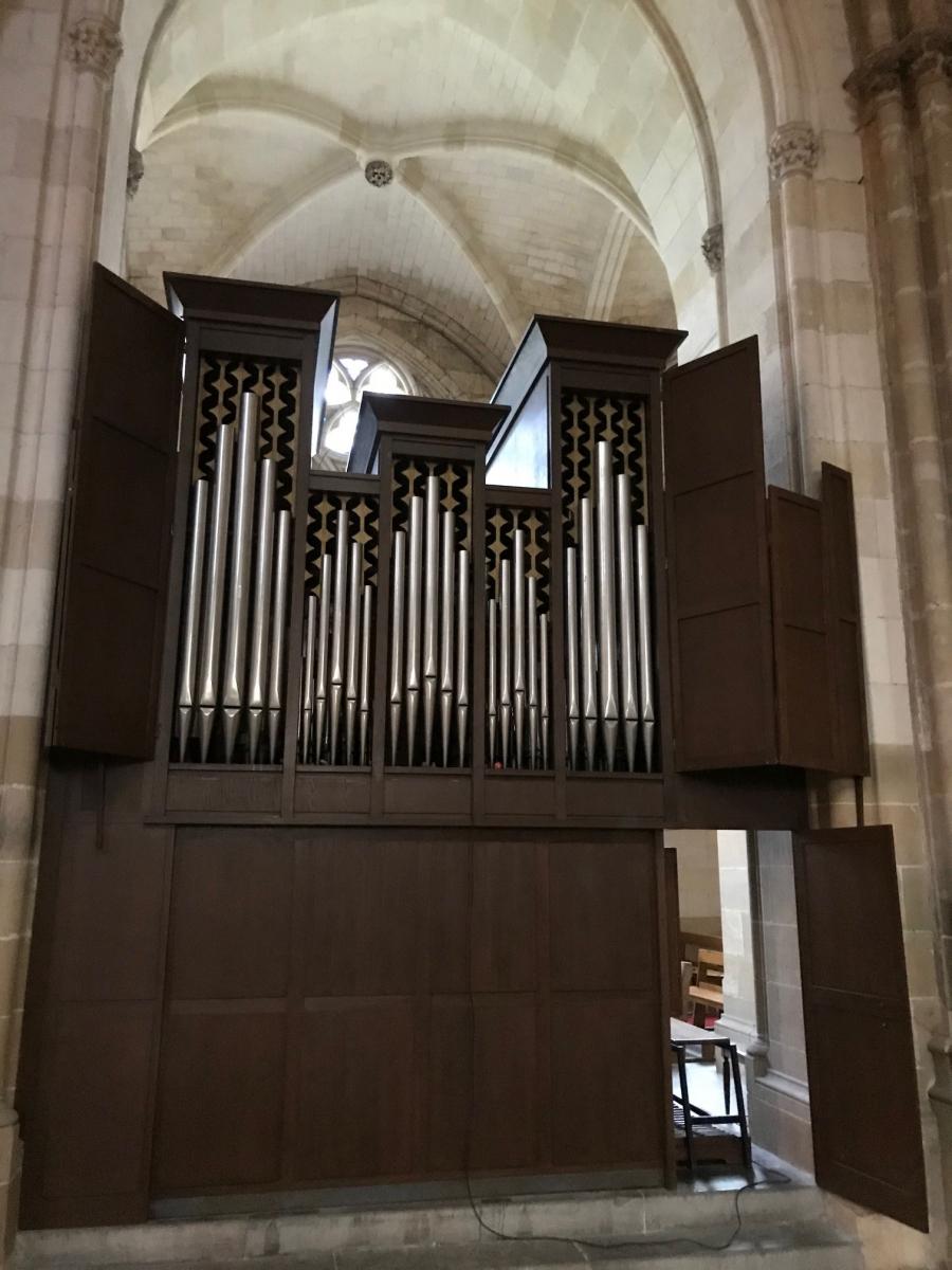 La restauration de l'orgue de choeur de la cathédrale de Bayonne