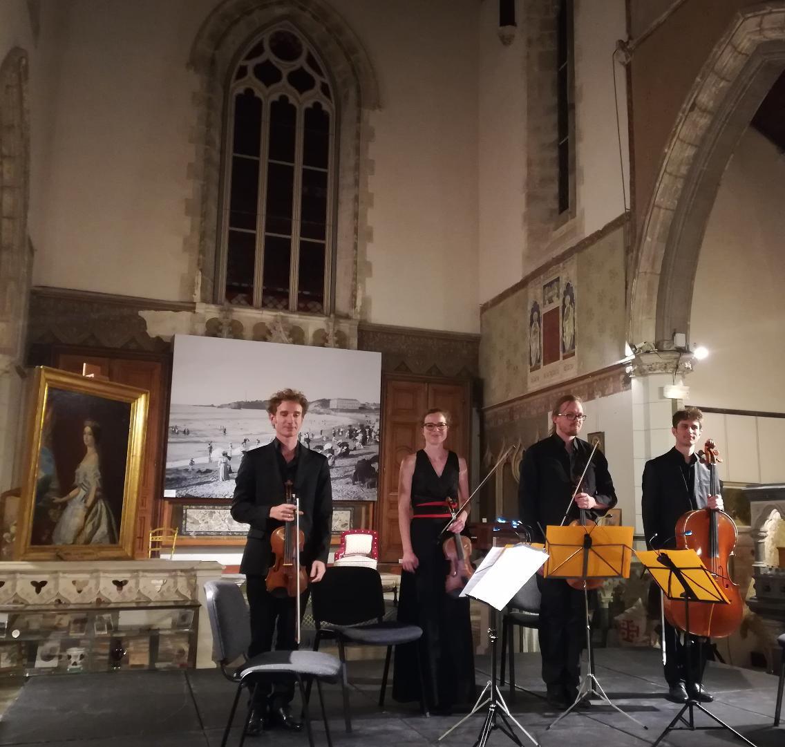 «Quatuor en Pays Basque» : des moments de haute qualité musicale
