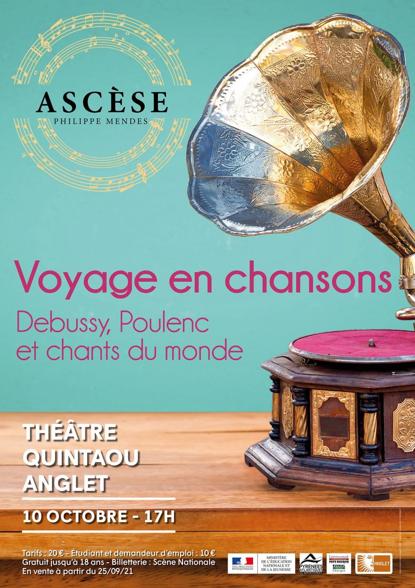 Anglet: le Voyage en chansons du chœur Ascèse