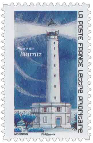 Phare de Biarritz timbre Poste en partenariat avec National Geographic France.jpg