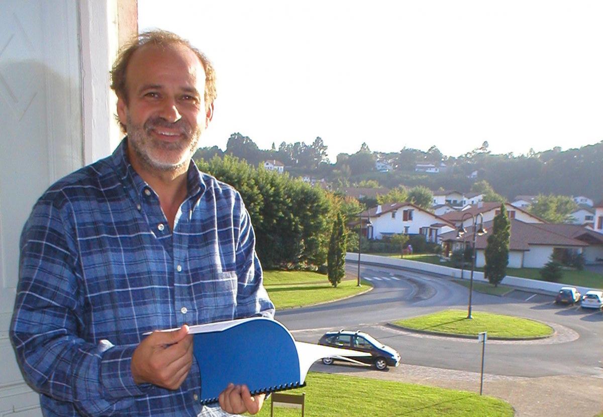 Pantxoa Etchegoin, directeur de l'Institut Culturel Basque.JPG