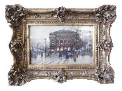 Théâtre du Chatelet par Eugène Galien-Lalque