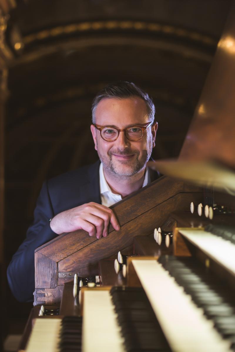 Biarritz: Olivier Périn en chamades ce dimanche à l'orgue de Sainte-Eugénie