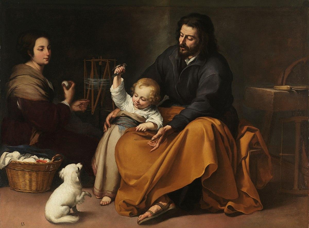 La Sainte Famille à l'oiseau
