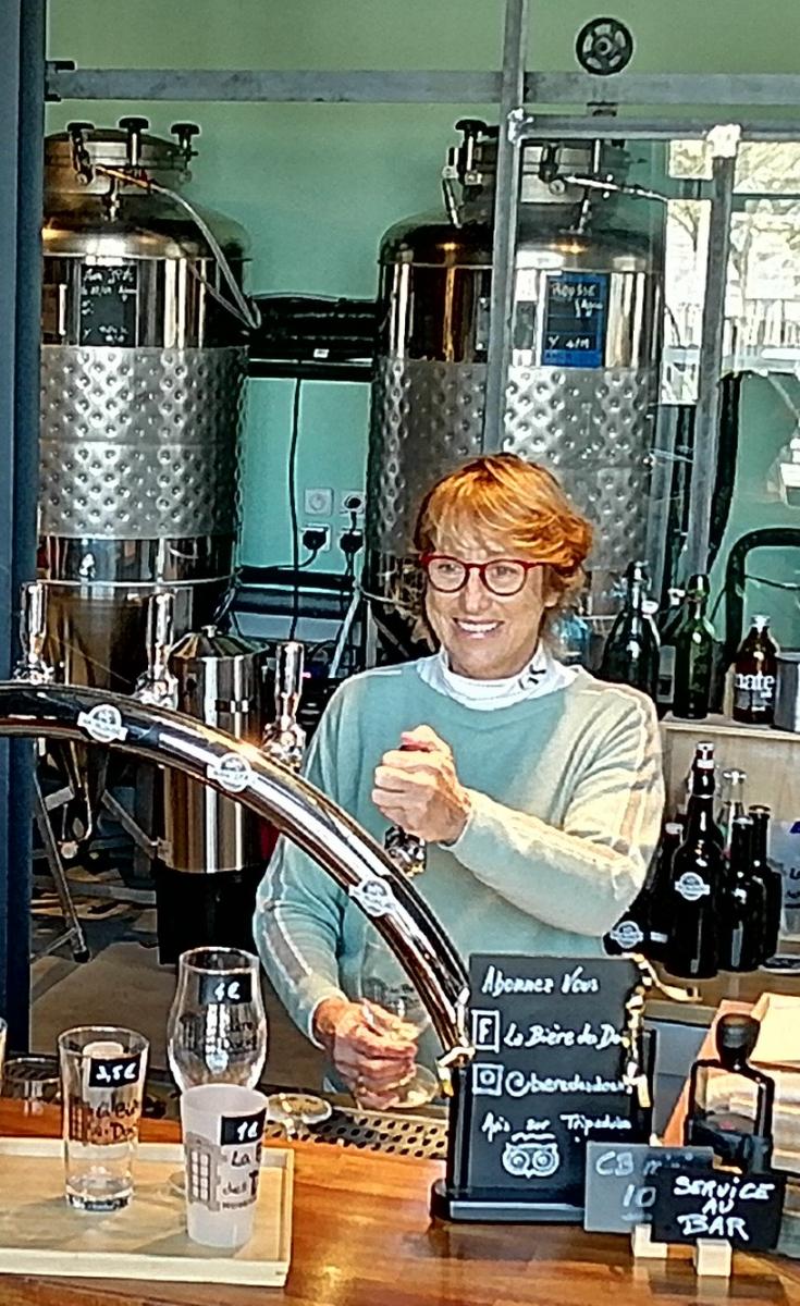 La Bière de Biarritz à la micro-brasserie des Docks de Biarritz