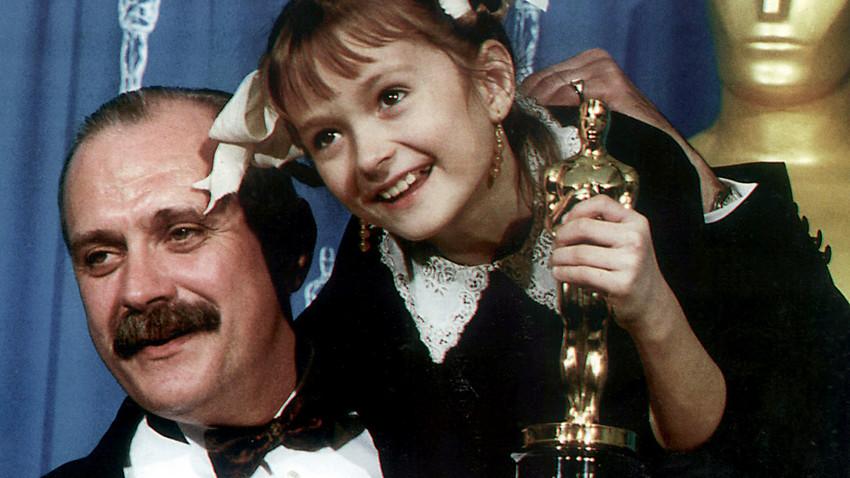 zCinéma2 Nikita Mikhalkov et sa fille Nadia.jpg