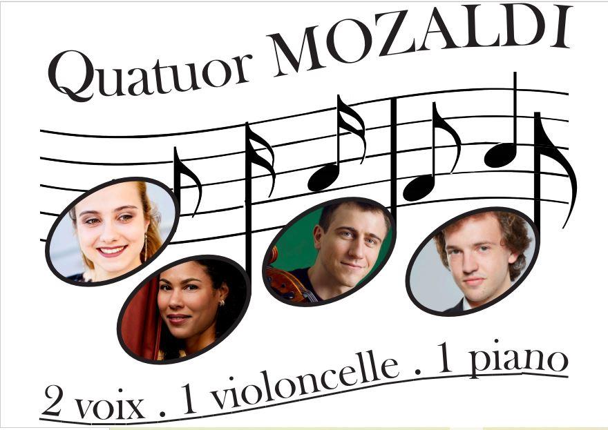 Saint-Pée-sur-Nivelle: le premier concert du Quatuor Mozaldi vendredi 11 juin