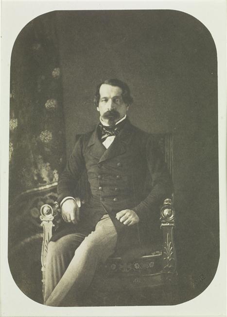 zHistoire2 Daguerréotype du Prince Président Louis Napoléon Bonaparte, futur Napoléon III 1849.jpg
