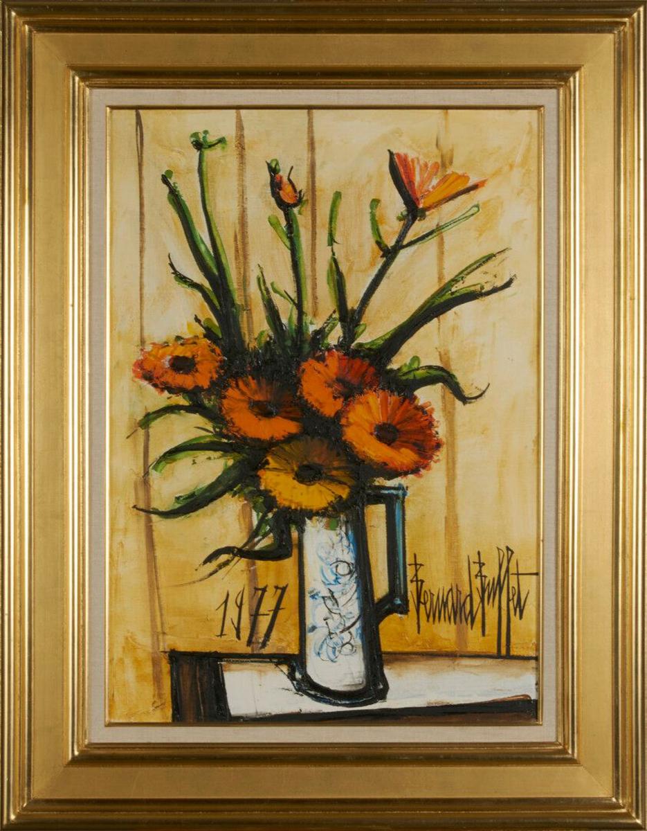 280 Bouquet de soucis par B DUBUFFET 1977 Dimanche.jpg