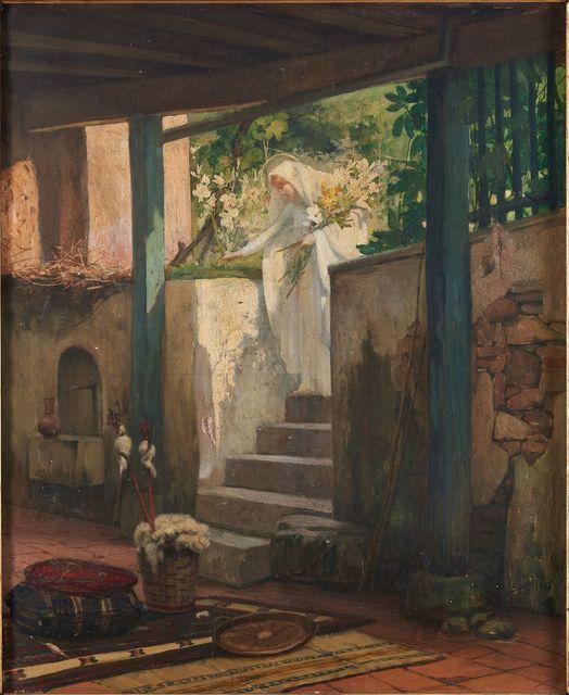 « Le Jardin de la Vierge » de Georges Berges rejoint le musée Bonnat-Helleu