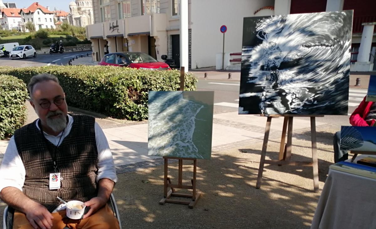 Benoït Darigues 2ème prix Ville de Biarritz et 3ème prix du Public.jpg