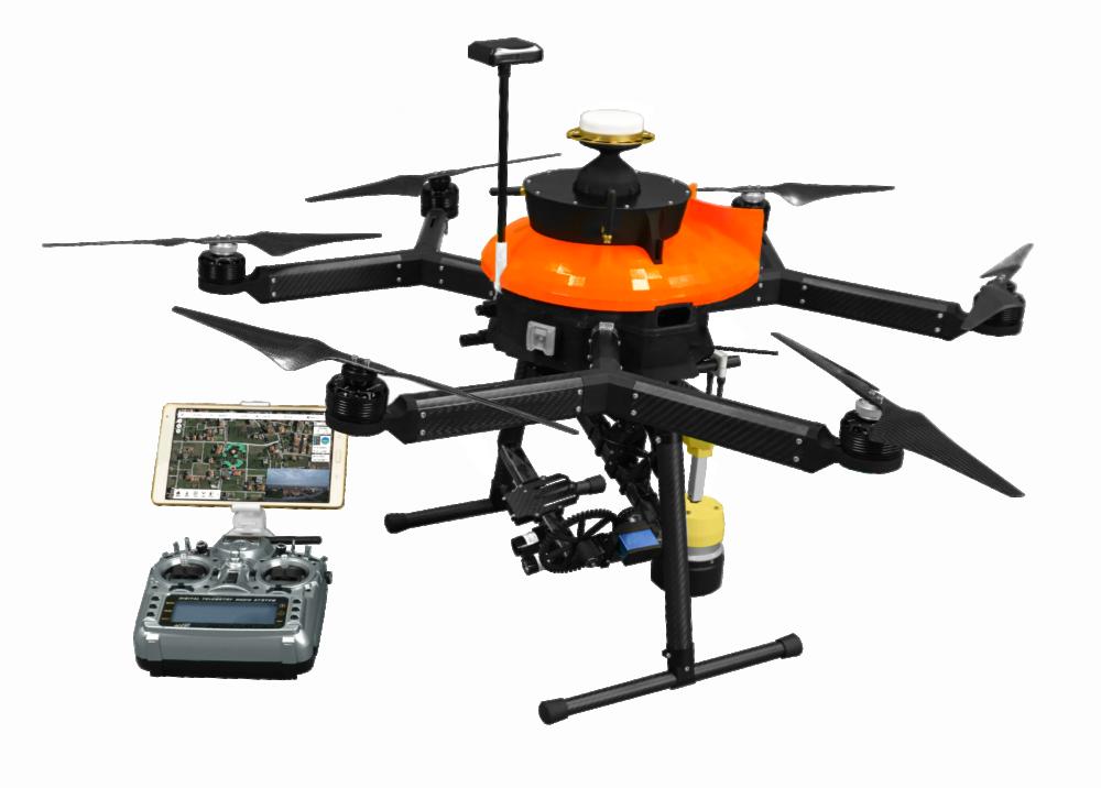 Système de sécurité pour drones