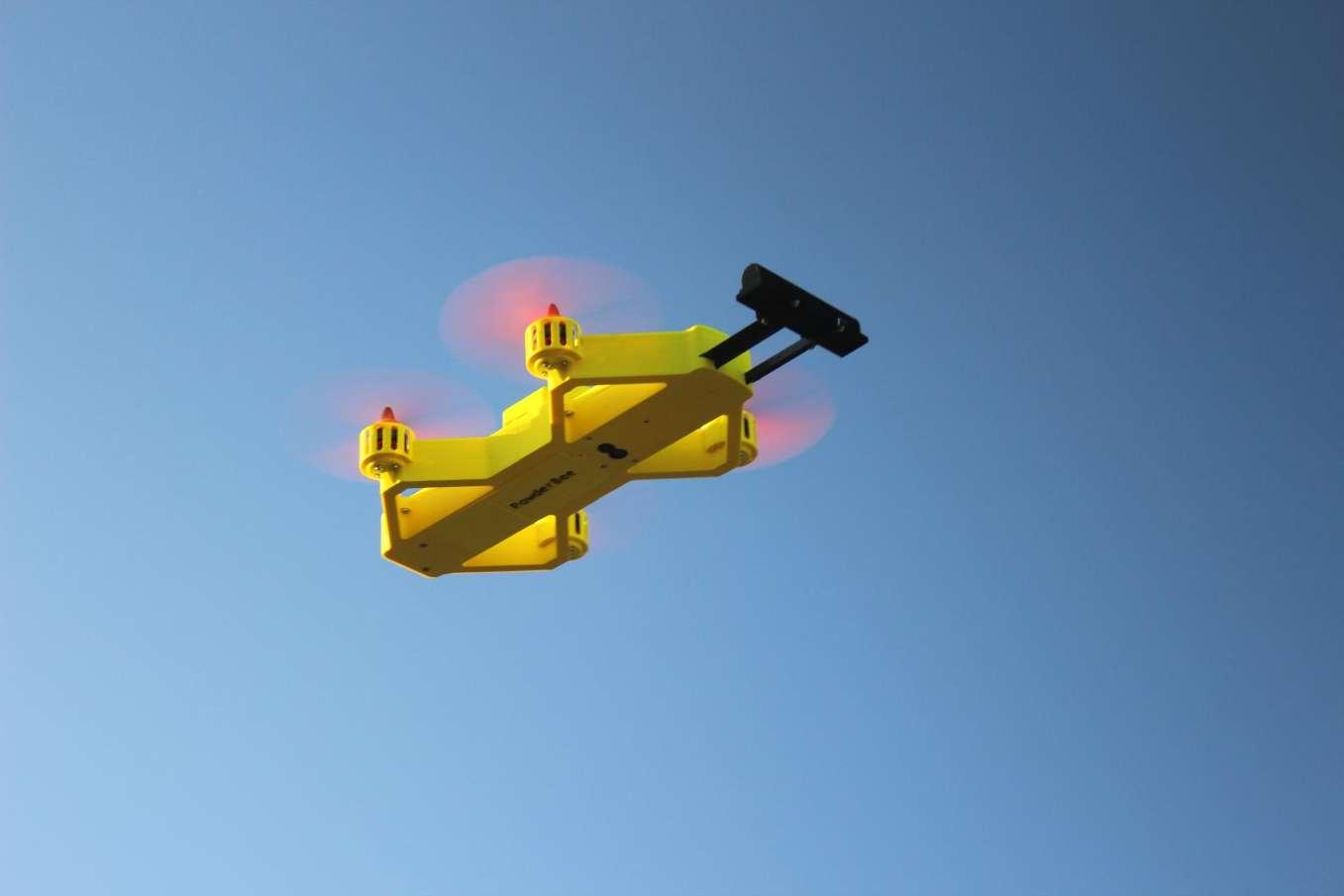 Un drone pour faire face aux avalanches