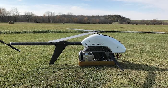 Des chercheurs de l'université du Kansas vont mesurer des calottes glaciaires par drone.