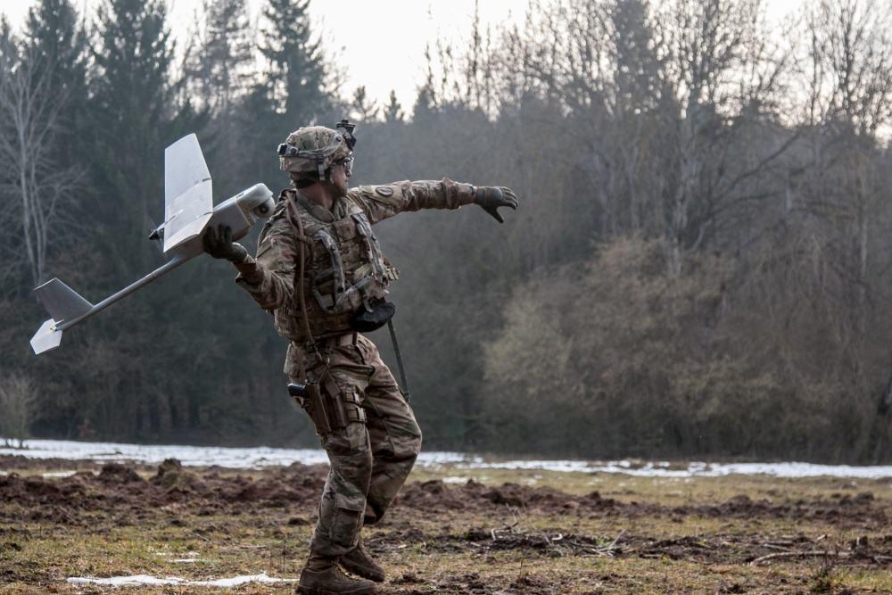 L'armée américaine s'entraîne à l'utilisation du Raven