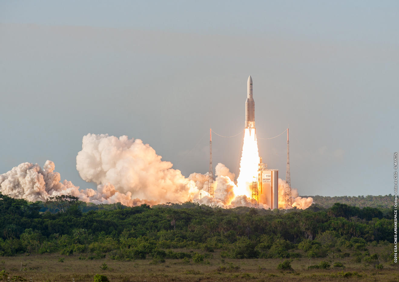 74th straight success for Ariane 5
