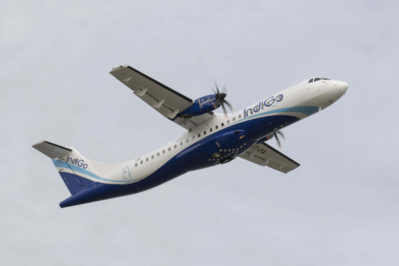 IndiGo takes delivery of first ATR 72-600