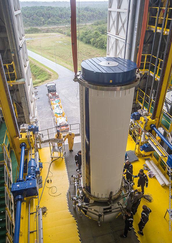 Vega launcher set for Earth observation mission