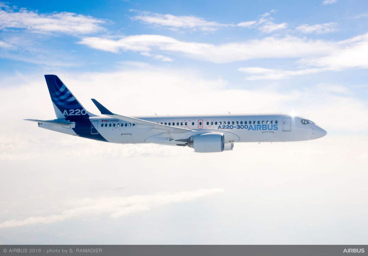 Air Austral takes Airbus A220s too