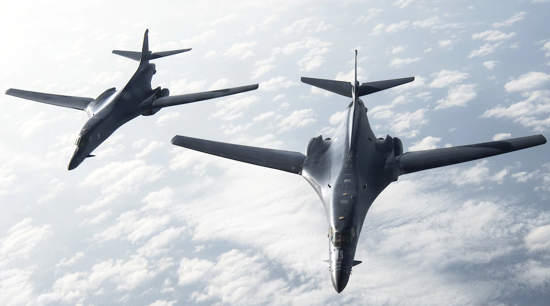 The first B-1B is taken out of service