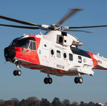 Leonardo delivers first Norwegian AW101