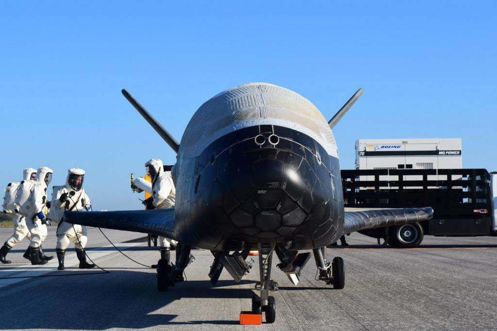 X-37B completes 4th orbital mission for USAF