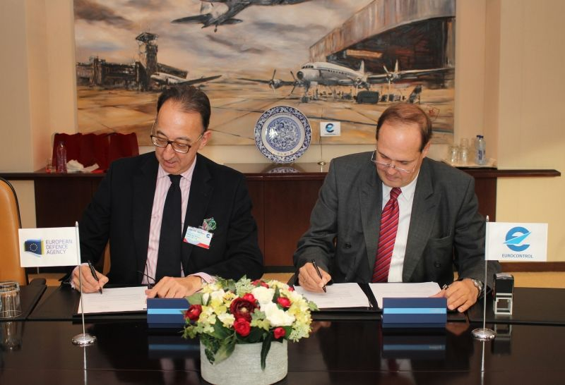 Eurocontrol, European Defence Agency consolidate cooperation