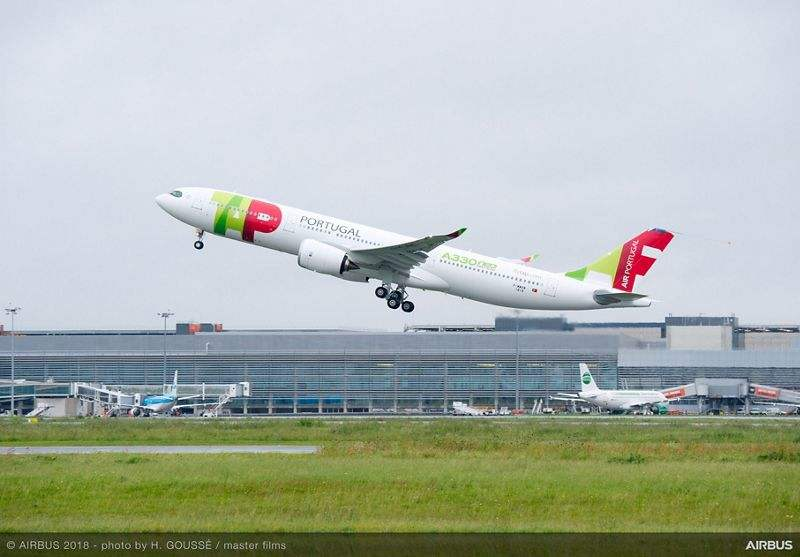 First A330neo for TAP makes maiden flight