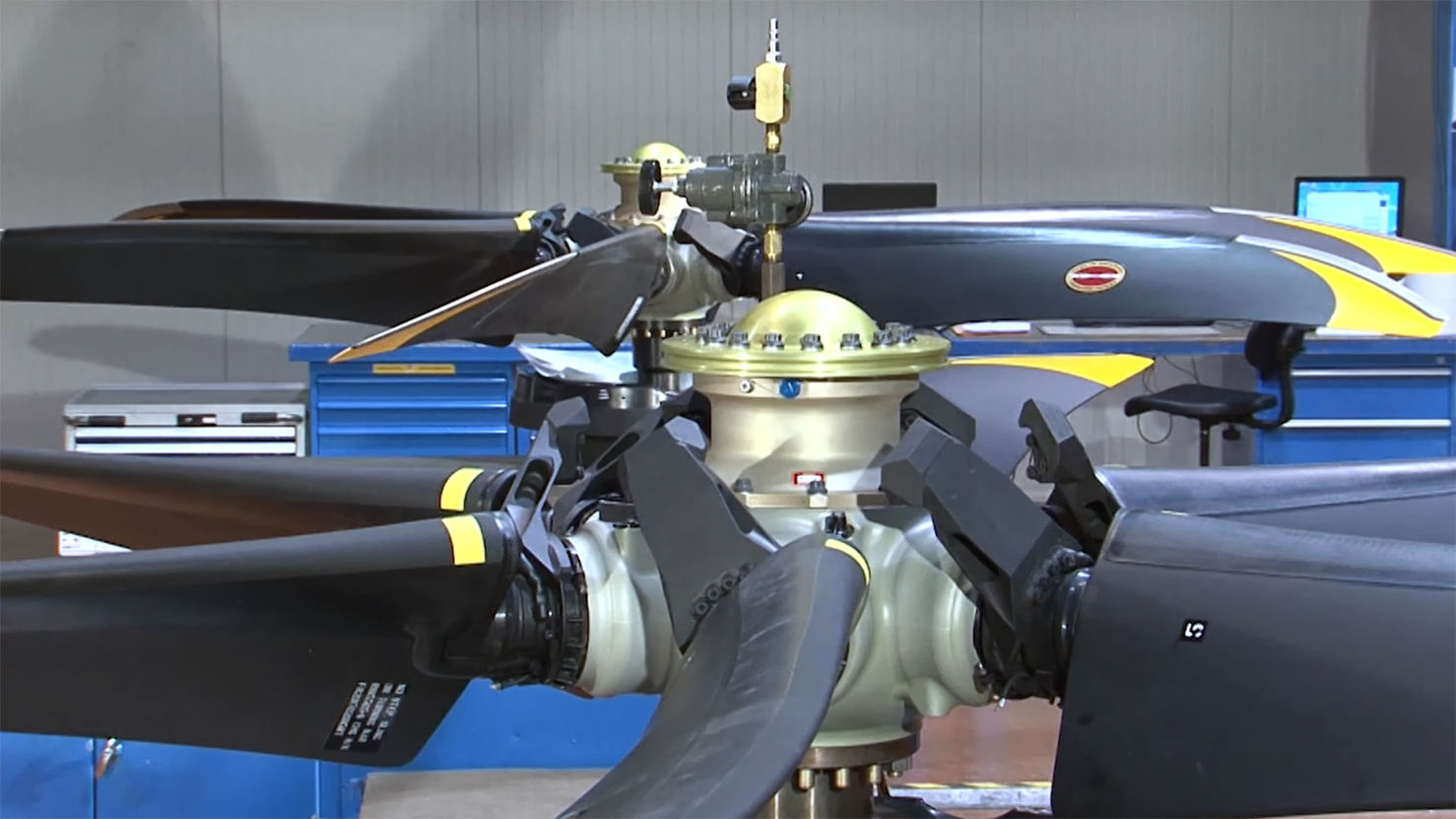 Cost reduction for Collins Aerospace's 568F propeller set on ATR 42 and 72