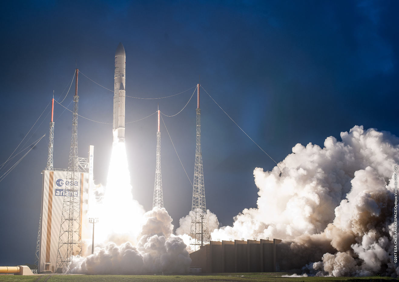 Ariane 5 makes it 77 in a row