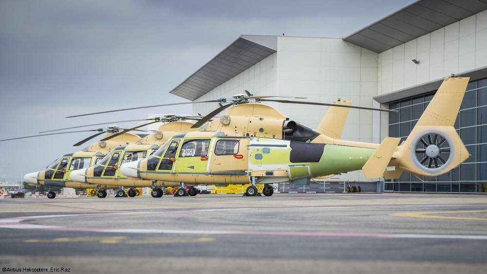 Airbus Helicopters delivers first three <br>AS565 MBe Panthers to Indonesia