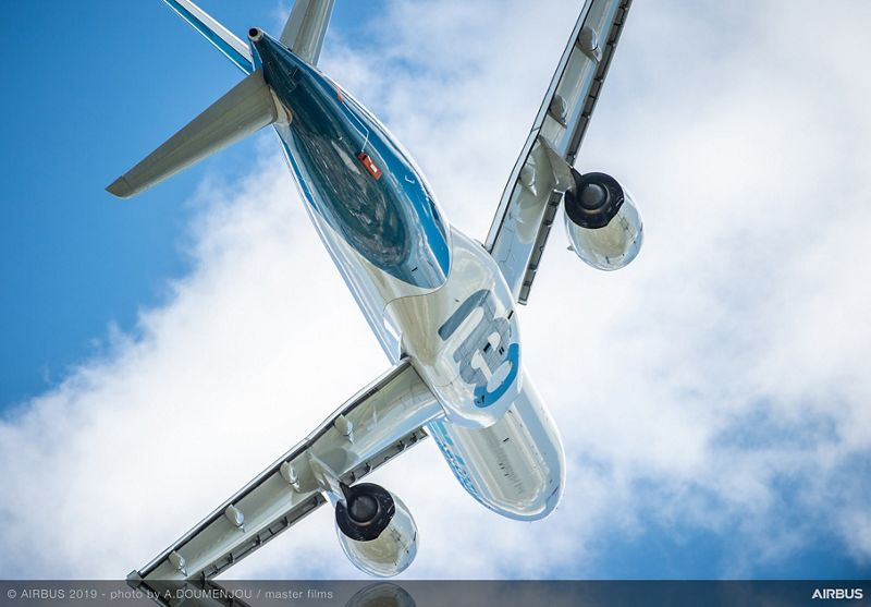 Airbus stays at 768 net sales in 2019