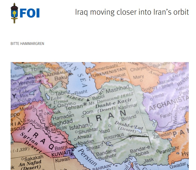 Report: Iraq moving closer into Iran's orbit