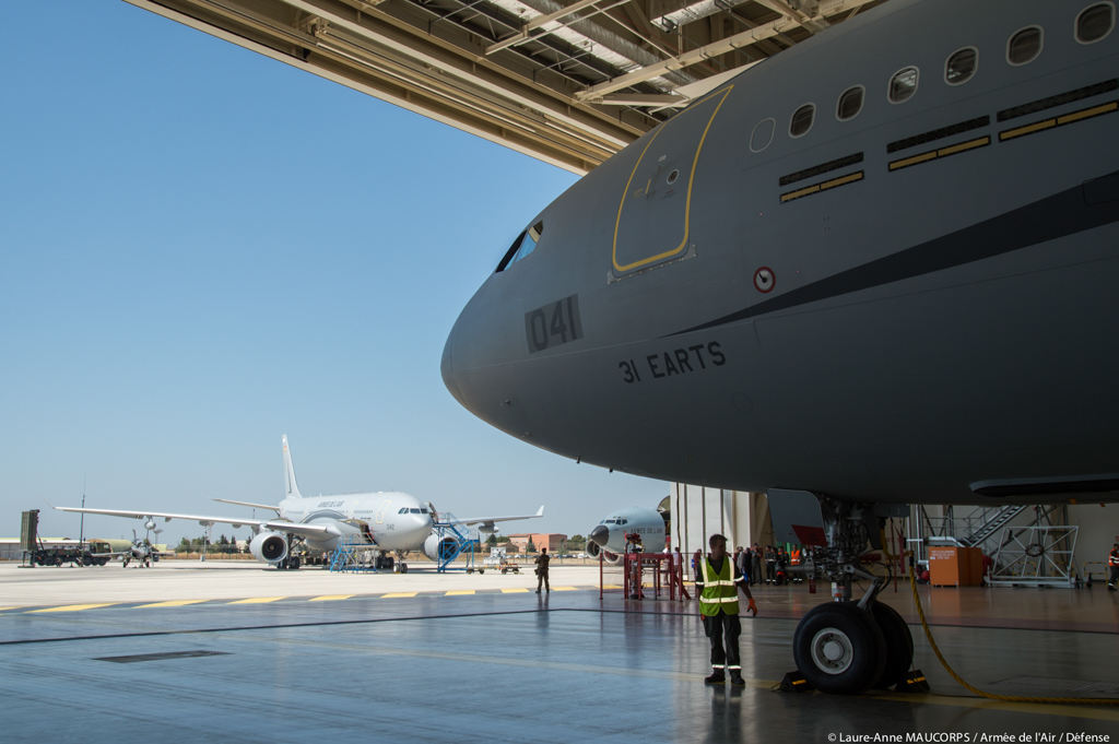 Reception of a second A330 Phénix by the French Air Force