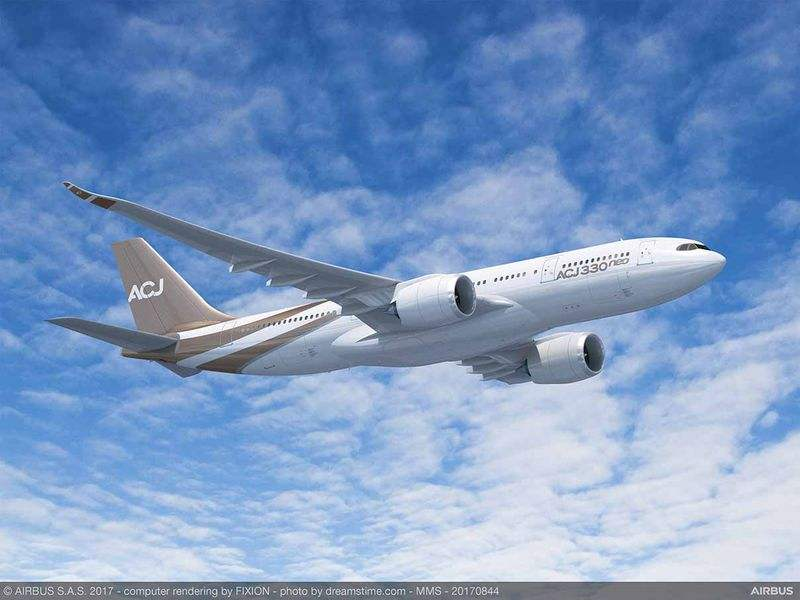 EBACE 2017: Airbus Corporate Jets launches ACJ330neo