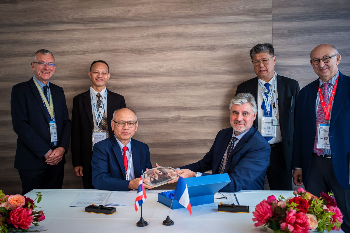 Global Support Package: Safran strengthens its position in Thailand