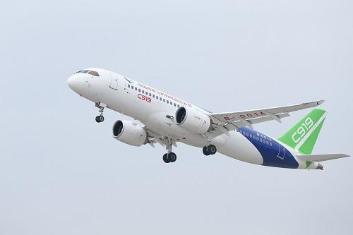 The production of the C919 should start this year