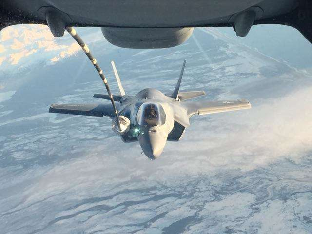 Marine Corps F-35 squadron relocates to Japan