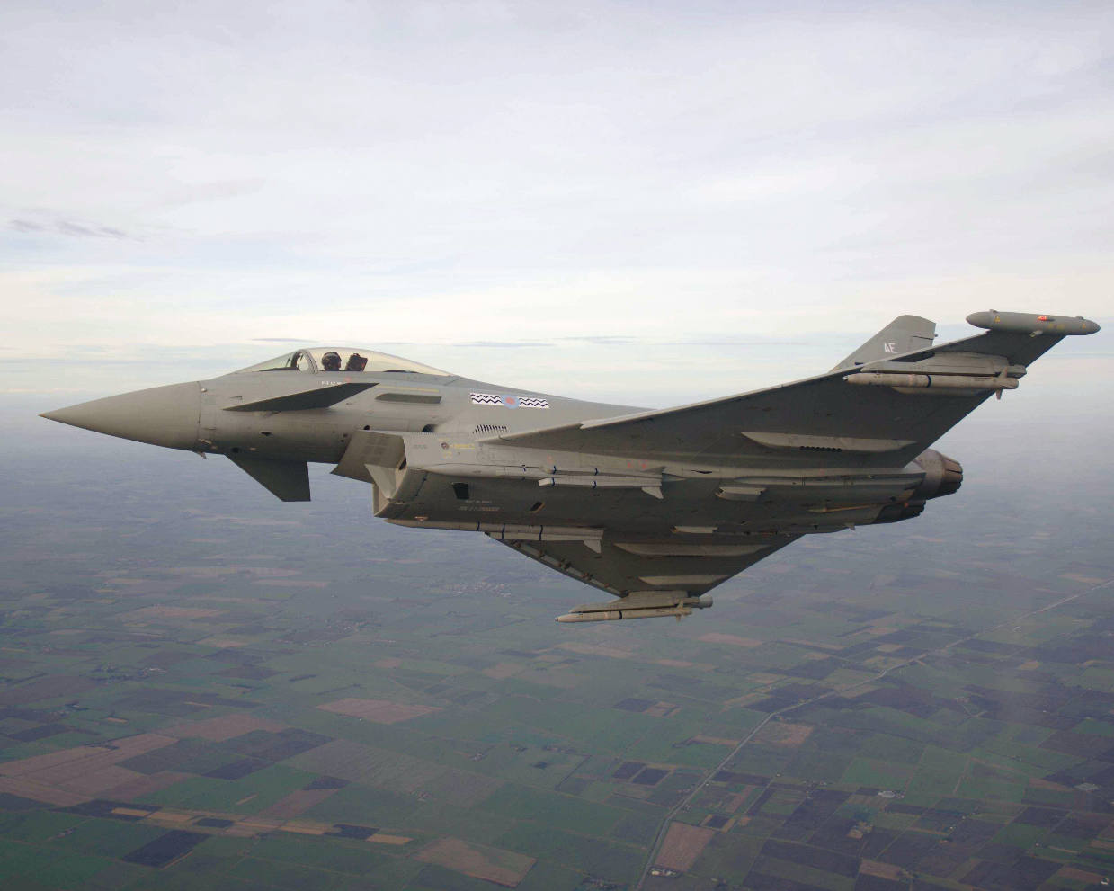 Eurofighter Typhoon completes successful Meteor dual firing