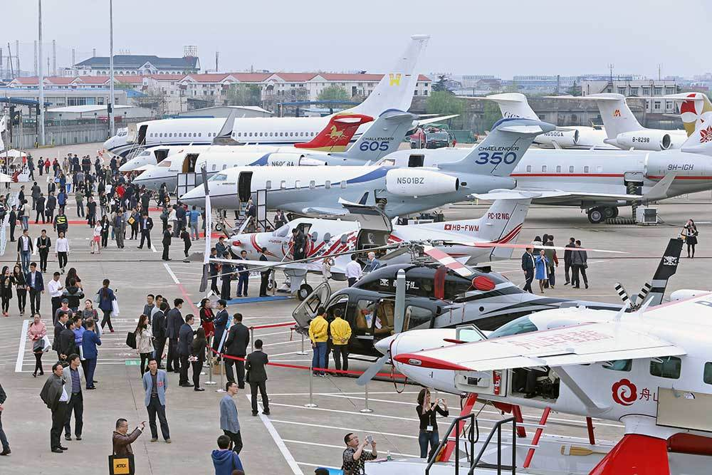 Report: sharp increase in large bizjet deliveries to China