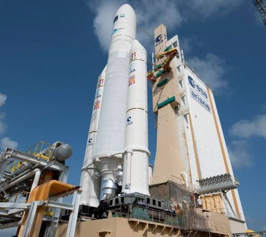 Static firing success for Ariane 5 solid booster