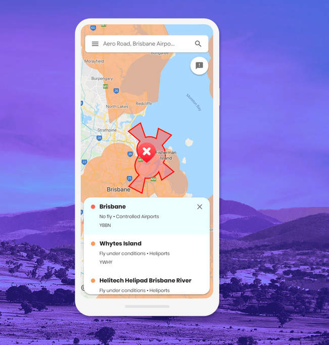 Google develops an app for drones