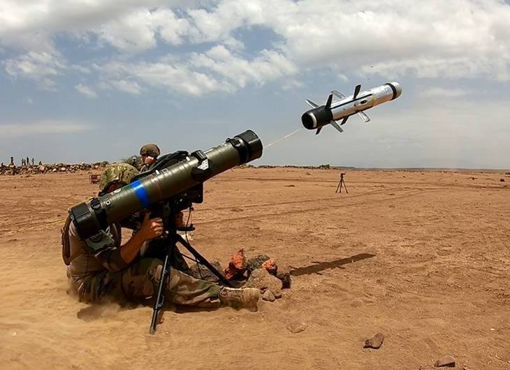 MMP missile cleared for desert operations